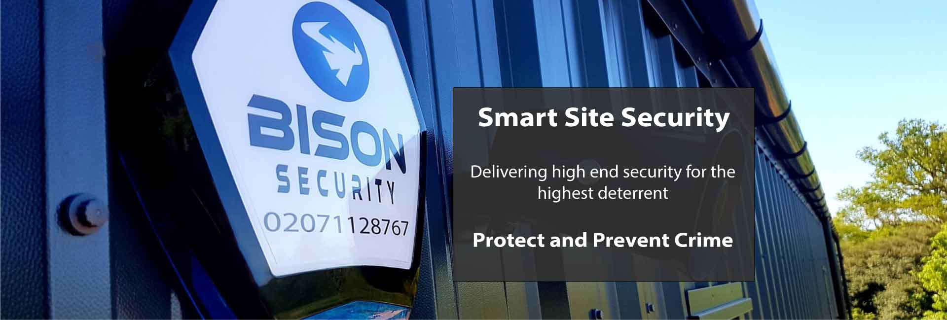 Bison Smart Site Security Protecting Buildings