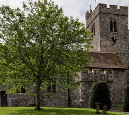 Church Scaffold Security Solution Chosen after Consultation and Site Visit